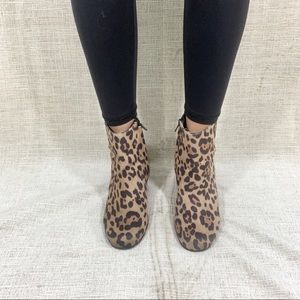 ✨Cheetah Print Ankle Boots✨